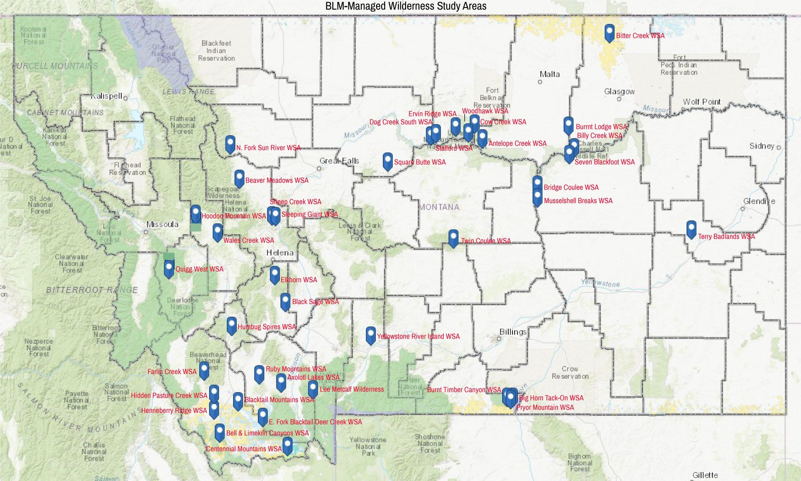 BLM Managed Wilderness