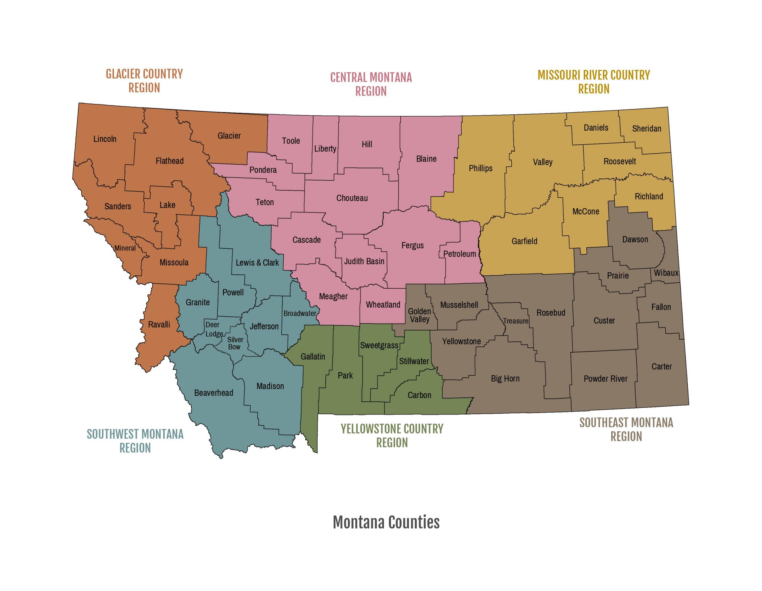 County Regions