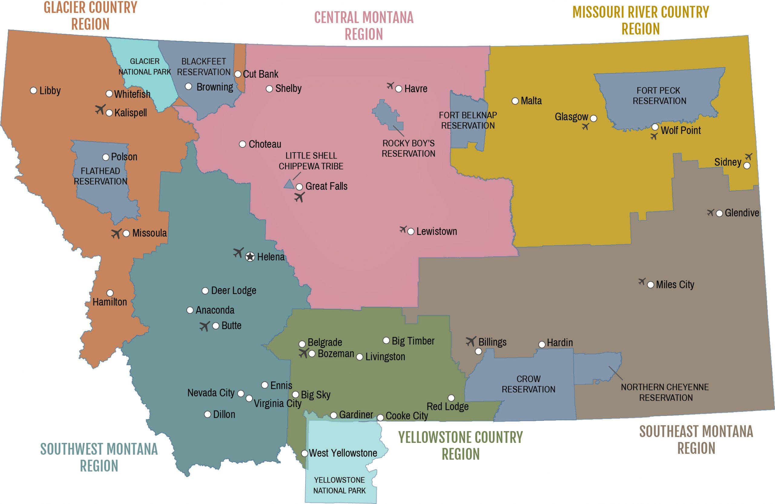 Regions Map Main